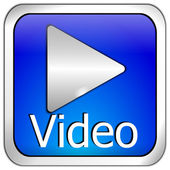 Play video Button — Stock Photo