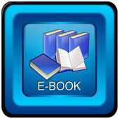 E-Book Button — Foto Stock