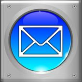 E-Mail Button — Stock Photo