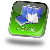 电子书按钮 — 图库照片