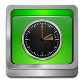 Czas letni na przycisk — Zdjęcie stockowe