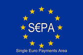 SEPA - Single Euro Payments Area — Stock Photo