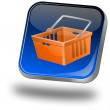 Foto de Stock  : Shopping Button