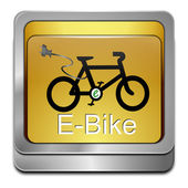 E バイク ボタン — ストック写真