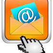 E-Mail Button with Cursor — Stock Photo #34644121