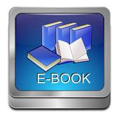 E-Book Button — Fotografia Stock