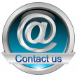 Button contact us — Stockfoto #35386173