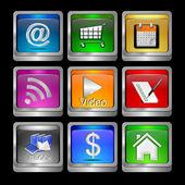 Sistema de aplicación — Foto de Stock