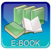 E-Book App — Foto Stock