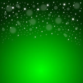 Christmas Background with stars and snowflakes — Stock Photo