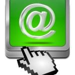 E-Mail Button with cursor — Stock Photo #37851217