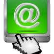E-Mail Button with cursor — Stock Photo #37851217
