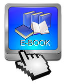 Bouton e-book avec curseur — Photo