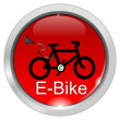 E-Bike Button — Stock Photo #38860391