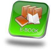 E-Book Button — Stock Photo