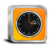 Daylight saving time button — Foto de Stock