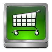 Shopping Button — Foto Stock