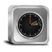Daylight saving time button — Stockfoto