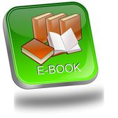 E-Book Button — Foto de Stock
