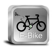 Botón e-bike — Foto de Stock