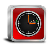 Daylight saving time button — Stok fotoğraf