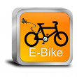 E-Bike Button — Stock Photo