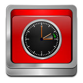 Daylight saving time button — Stock Photo