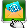 E-Mail Button with Cursor — Stock Photo #44177631