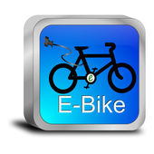 E-bike-knappen — Stockfoto