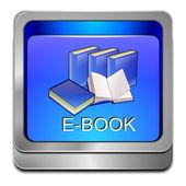E-boek knop — Stockfoto