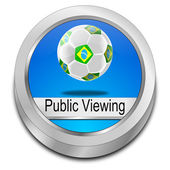 Public viewing Button — Stockfoto