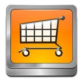 Pulsante dello shopping — Foto Stock