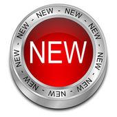 New Button — Stock Photo