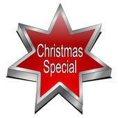 Christmas Special star button — Stockfoto