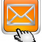E-Mail Button with Cursor — Stock Photo #48623529