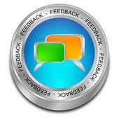 Feedback button — Stock Photo