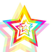 Abstract star background vector — Stock Vector