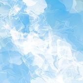 Fond abstrait flux fumé — Vecteur