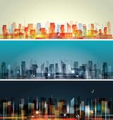 城市景观 — 图库矢量图片