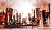 City skyline — Stock Vector