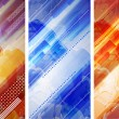 Royalty-Free Stock Vector Image: Abstract banner set