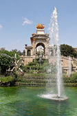 Ciutadella Park in BARCELONA — Stock Photo