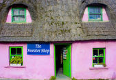 Cottage house in Adare — Stock Photo