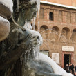 Neptune square - bologna - Stock Photo