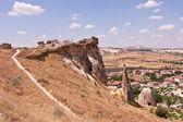 Caverna cidade na capadócia — Foto Stock