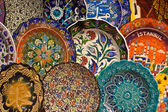 Turkish ceramic art — Stock Photo