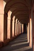 San Luca arcade in Bologna — Stock Photo
