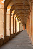 San Luca arcade in Bologna — Stock Photo