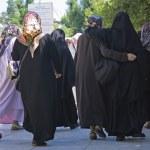 Muslim woman in turkey — Stock Photo