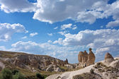Kapadokya'nın görünümü — Stok fotoğraf